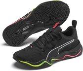 PUMA Zone XT Wns Dames Sportschoenen - Puma Black-Ignite Pink-Puma Silver - Maat 34.5