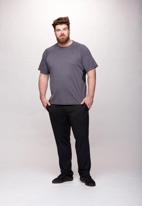 Redmax Heren Joggingbroek (Grote Maten) - Zwart - XL