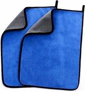Duopack Superabsorberende Microvezeldoek, Microfiber Droogdoek Auto  - Auto microvezel Handdoek - Auto wassen - Auto Drogen 60 x 40 cm | Premium kwaliteit 800gsm
