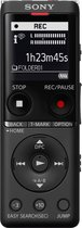Sony ICD-UX570 - Digitale Voice recorder - 4GB -Zwart