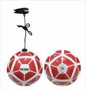 Mini bal met elastiek KICK and PLAY db SKILLS rood