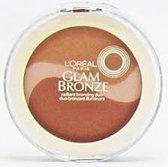 L'oreal Paris Glam Bronze Radiant Bronzing Duo 350 Glistening Glow