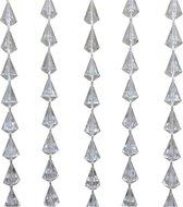 Vliegengordijn Diamant Transparant - 90 x 200 cm - PVC