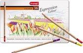 Bruynzeel Expression | Kleurpotloden in bewaarblik (36 kleuren)