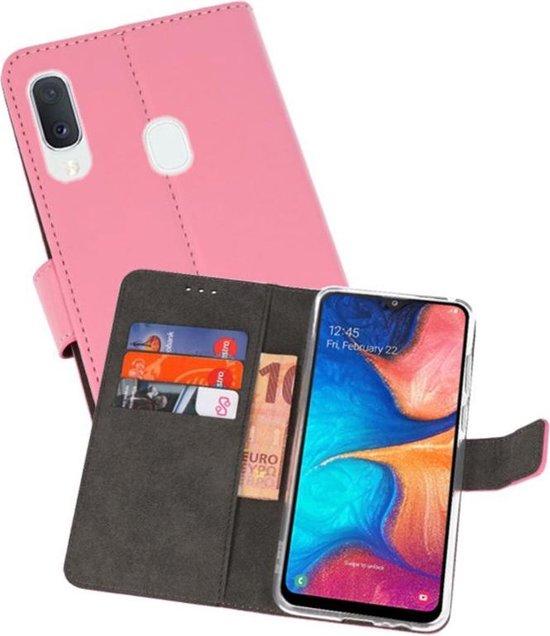 Wallet Cases Hoesje voor Samsung Galaxy A20e Roze