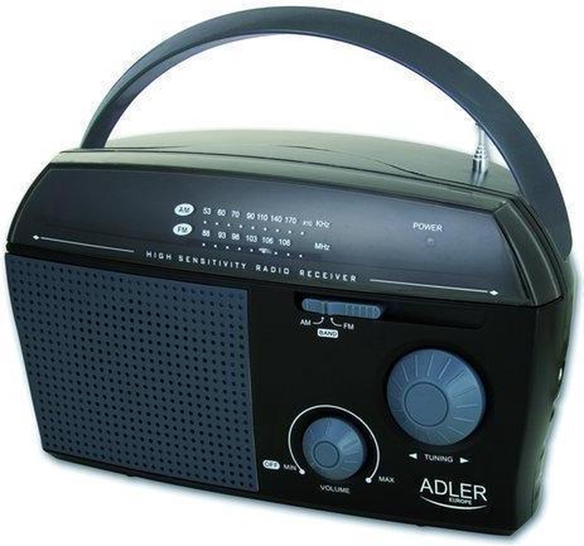Adler AD1119 draagbare radio