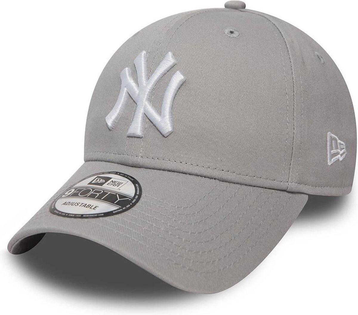 New Era 940 LEAG BASIC New York Yankees Cap - Grey - One size