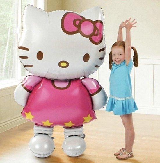 Hello Kitty XL - Ballon - Kinder feest - Meisje - Babyshower - Decoratie