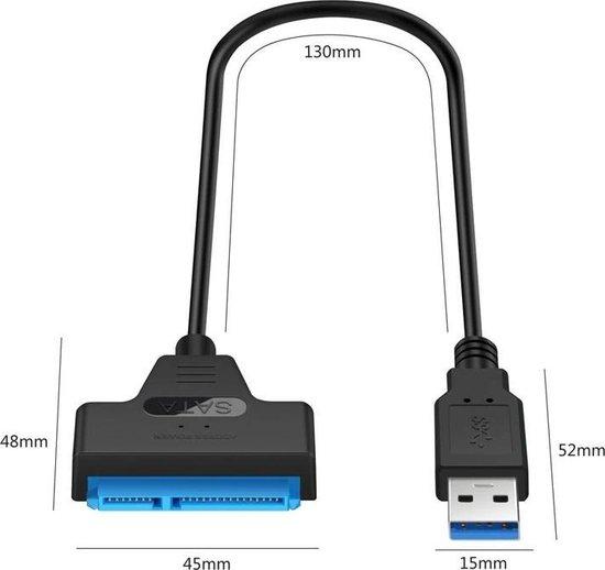 Professionele SATA naar USB 3.0 kabel Adapter 2.5 inch SSD/HDD harde schijf uitbreiden Connector - laptop/computer