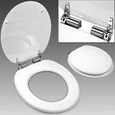 Toiletbril, toilet zitting, softclose, wc bril, wit