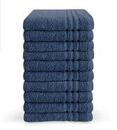 Byrklund Handdoek - Blauw - 10 stuks - 50x100cm