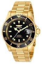Invicta Pro Diver 8929OB - Horloge - Staal - Goudkleurig - 37.5 mm
