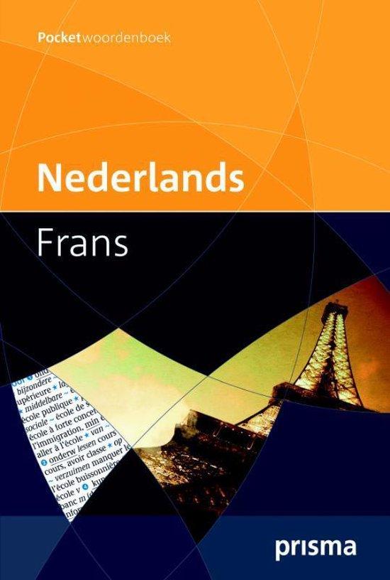 Boek cover Prisma pocketwoordenboek Nederlands-Frans van H.W.J. Gudde (Paperback)