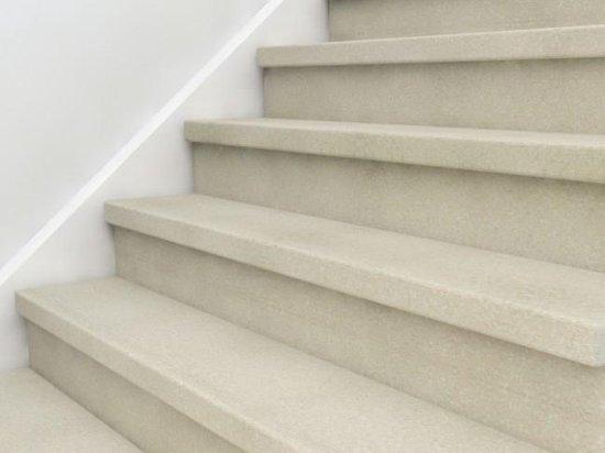 Trapbox traprenovatie, kleur Ivoor, zelf uw trap renoveren in één dag!