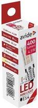 Avide LED lamp JD E14 4.5W WW 3000K