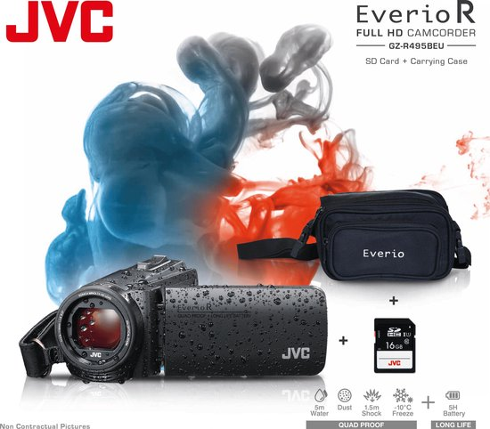 JVC GZ-R495 - Zwart