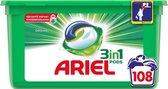 Ariel 3in1 Pods Original - Kwartaalbox 3 x 36 Wasbeurten - Wasmiddelcapsules