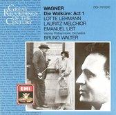 Wagner: Die Walkure Act 1 / Walter, Melchior, Lehmann, List