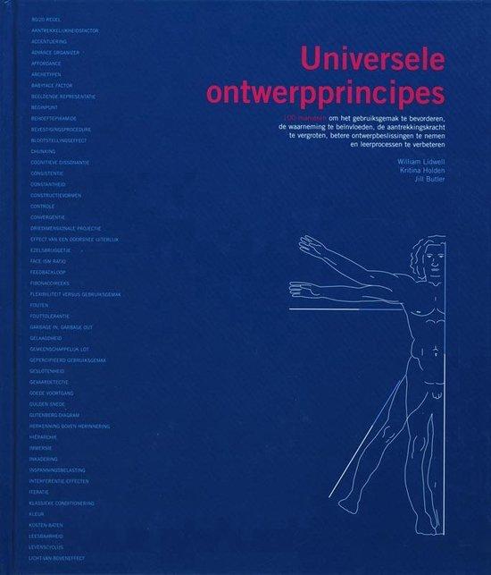 Cover van het boek '100 Universele Design Principes' van W. Lidwell en K. Holden