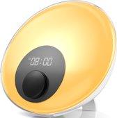 Gadgy Wake Up Light – Wekkerradio met 16 mln. kleuren – Nachtlamp