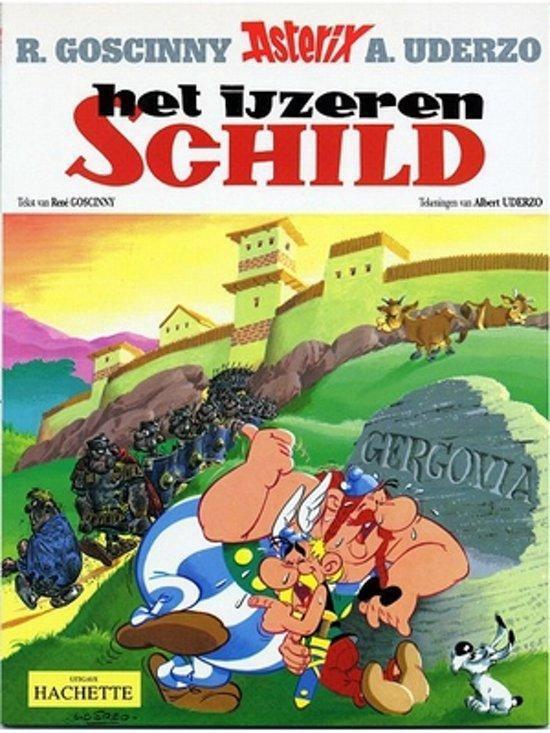 Boek cover Asterix 11. het ijzeren schild van Albert Uderzo