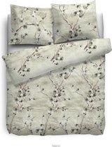 HNL Pure Cotton Nena Dekbedovertrek - Eenpersoons - 135x200 + 80x80 cm - Green