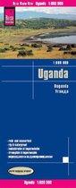 Reise Know-How Landkarte Uganda (1:600.000)