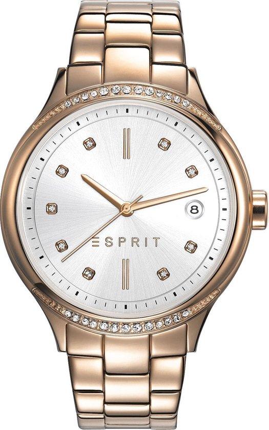 Esprit ES108562003 - Horloge - Staal - Rosékleurig - Ø 38 mm
