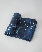 Little Unicorn muslin swaddle Flock of Stars