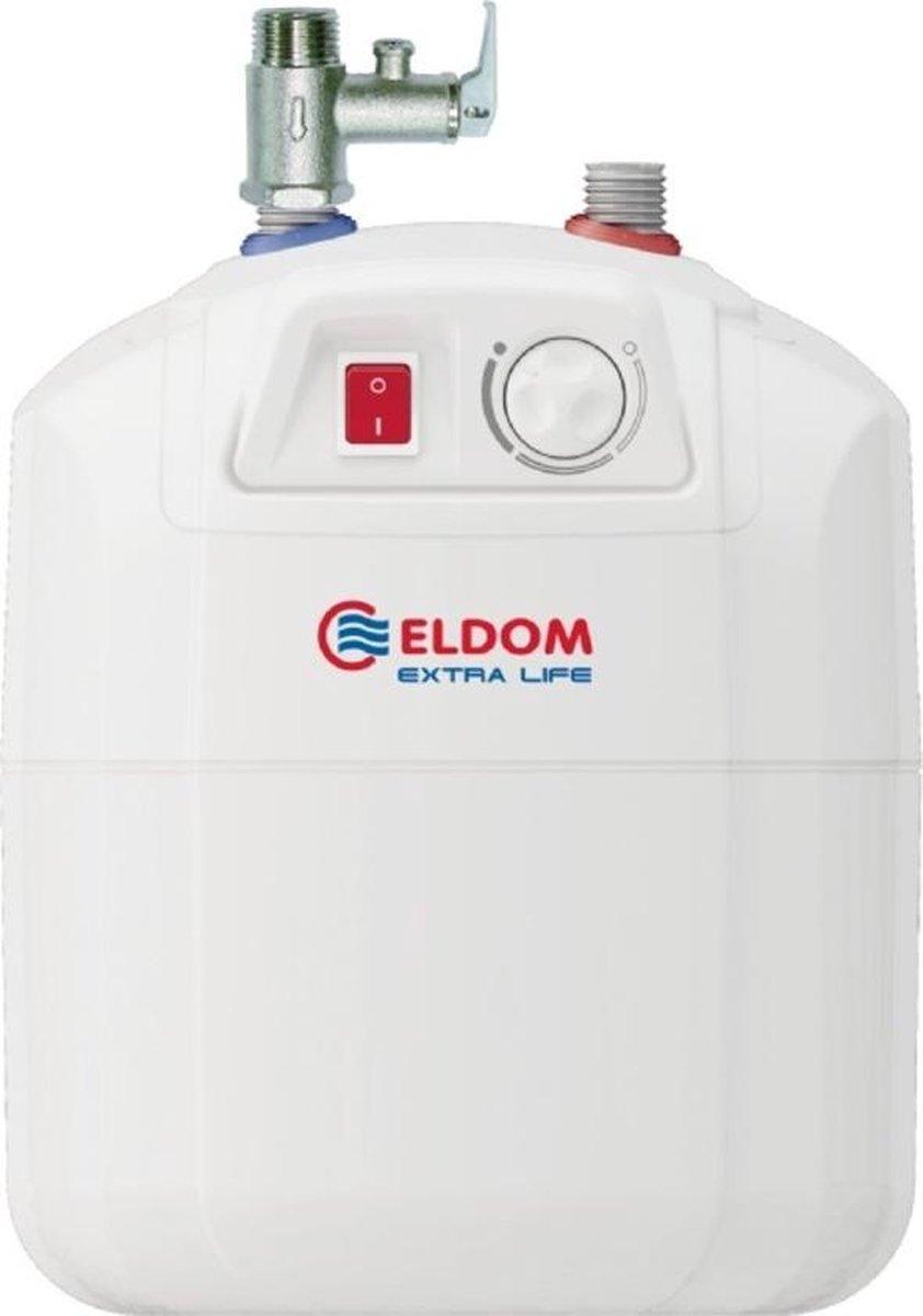 7 liter close in boiler 1,5kw voor onder het aanrecht ELDOM Extra Life