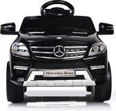 Mercedes ML350 kinderauto Zwart + 2.4G Afstandbediening + muziek + verlichting