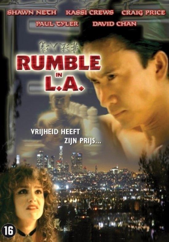 Cover van de film 'Rumble In La'