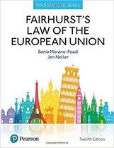 Afbeelding van Fairhursts Law of the European Union