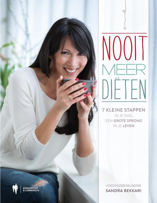 Boek cover Nooit meer diëten van Sandra Bekkari (Onbekend)