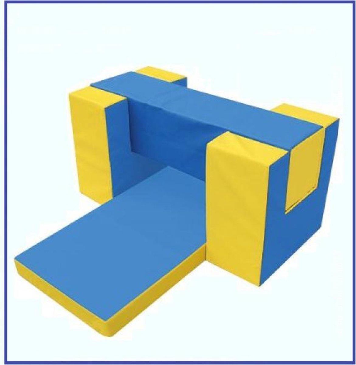 Basis Gymnastiek Set - Speel, Bouw & Zit schuim blokken / kussens / elementen / foam