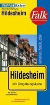 Falk Stadtplan Extra Standardfaltung Hildesheim 1 : 17 500