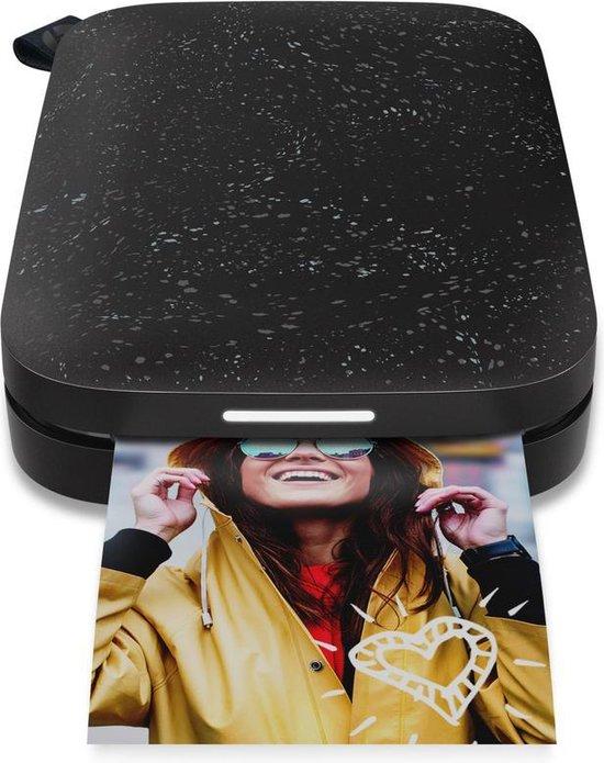HP Sprocket New Edition - Mobiele Fotoprinter - Noir