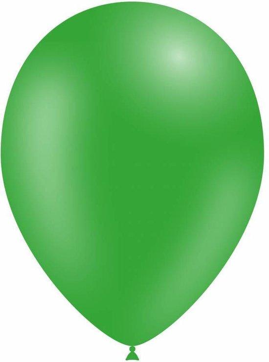 Groene Led Ballonnen 30cm 5 stuks