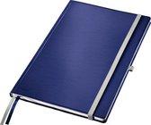 Leitz Notitieboek Style A4 gelijnd harde kaft Titaniumblauw