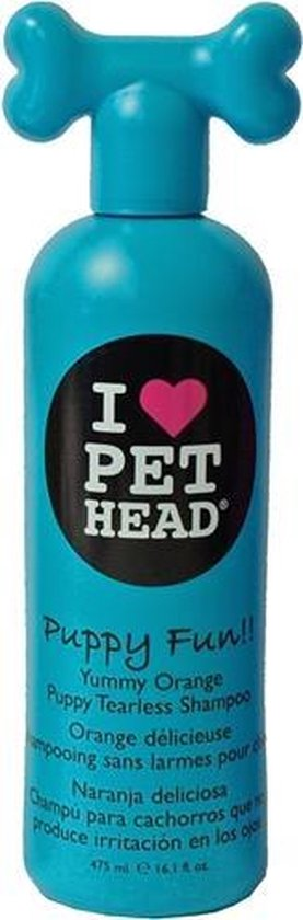 Pet Head Puppy Fun Shampoo - Hondenshampoo - 475 ml