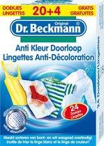 Dr.Beckmann - 24 stuks - Antikleurdoorloopdoekjes
