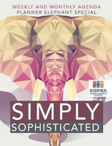 Simply Sophisticated Weekly and Monthly Agenda Planner Elephant Special
