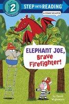 Elephant Joe, Brave Firefighter! Step Into Reading Comic Reader