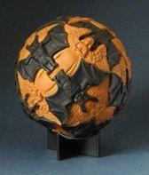 Beeldje - Sphere - Escher - Angels - and - Devils - mozaiek