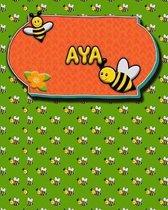 Handwriting Practice 120 Page Honey Bee Book Aya