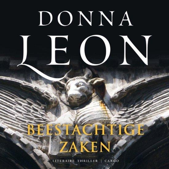 Boek cover Beestachtige zaken van Donna Leon (Onbekend)