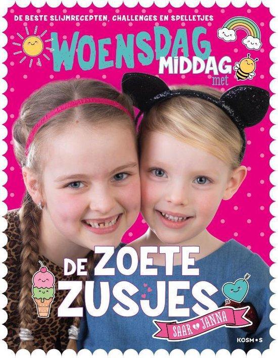 Boek cover Woensdagmiddag met de Zoete Zusjes van Hanneke de Zoete (Paperback)