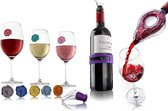 Vacu vin Wijn tasting gift set