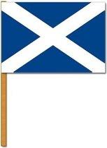 Luxe zwaaivlag Schotland
