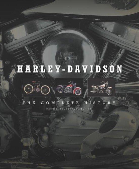 Boek cover Harley-Davidson van Darwin Holmstrom (Hardcover)